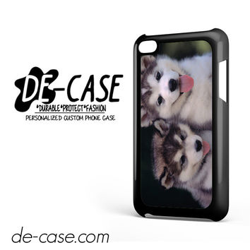 Siberian Husky Puppies Dog For Ipod 4 Case Phone Case Gift Present