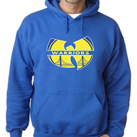 "Golden State Warriors ""W"" Hooded Sweatshirt ADULT 5XL"