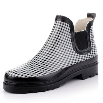 Fashion Miss Rain Bootie,Rain boots = 5825361409