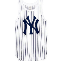 New York Yankees Muscle Tank - PINK - Victoria's Secret