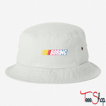 Boring bucket hat