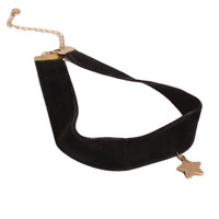 Goth Black Velvet belt Star Cross Gothic Tattoo Black Choker Necklace Sailor Moon Cosplay Jewelry Women Accessories