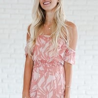 Palm Trees And Coconuts Romper - Luca + Grae