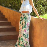 The Muse Pant - Tropical Coco