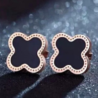 Van Cleef & Arpels New fashion four-leaf clover women earring