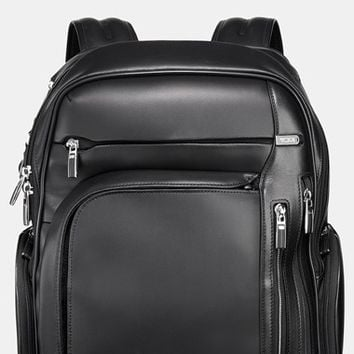 Men's Tumi 'Arrive - Kingsford' Leather Backpack