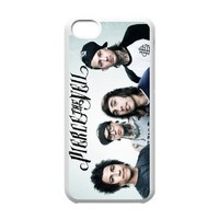 Music Band Pierce the Veil Poster Slim Fit Back Case TPU Cover for iPhone 5C