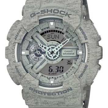 Casio G-Shock Big Case - Gray Heather Pattern - Magnetic Resistant - 200M