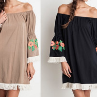 Eliza Bella for Umgee Boho Hippie-Chic Dress / Blouse SML