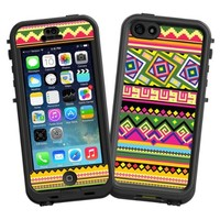 """Happy Bright Tribal """"Protective Decal Skin"""" for LifeProof nuud iPhone 5 Case"""