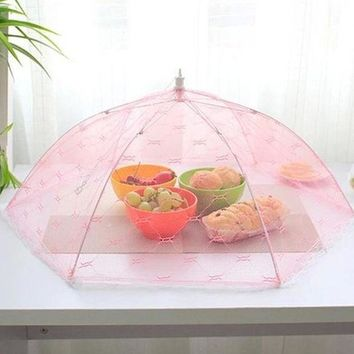 DCCKL72 Top Selling Food Umbrella Cover Picnic Barbecue Party Sports Fly Mosquito Net Tent