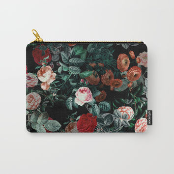 NIGHT GARDEN XXV Carry-All Pouch by Burcu Korkmazyurek