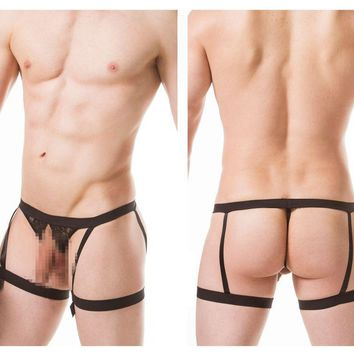 PPU 1807 Thongs Color Black