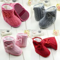 Baby Shoes Girl Boy Snow Boots 3-18 Months L4