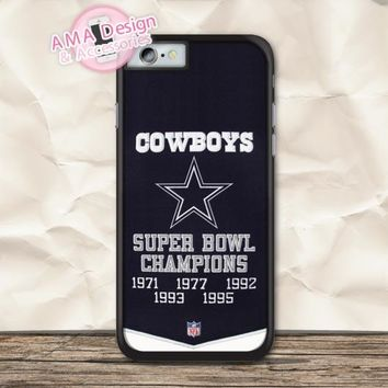 Flag Of Dallas Cowboys Football Case For iPhone X 8 7 6 6s Plus 5 5s SE 5c 4 4s For iPod Touch