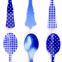 Mixed Print Teaspoon Set