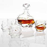 Glass Decanter Set of 5 | Eichholtz Gatsby
