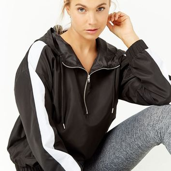 Active Striped Anorak Jacket