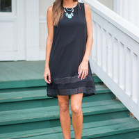 Midnight In Milan Dress, Black