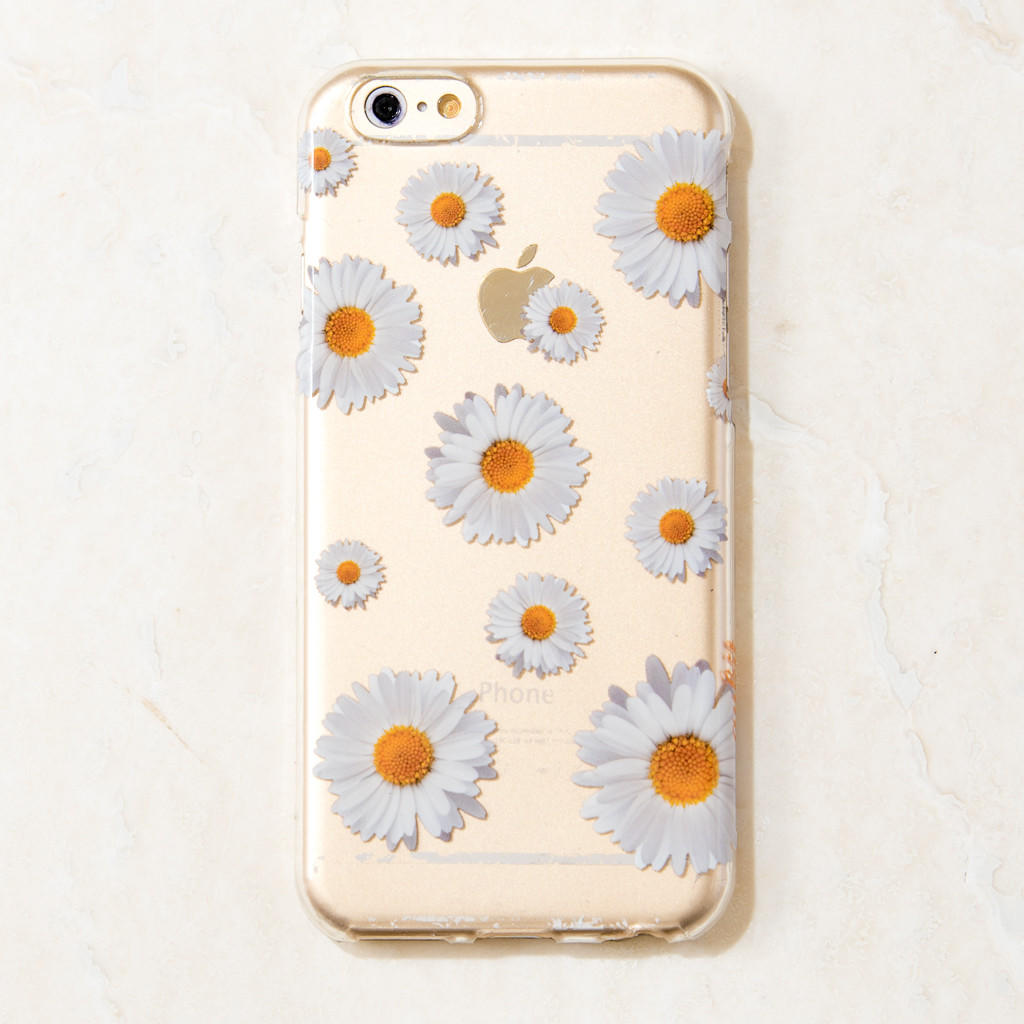 huge discount 1890c 27896 Clear Daisy iPhone 6 Case