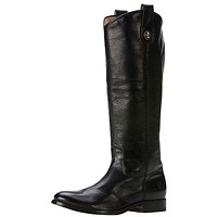 Melissa Button Boot in Black by The Frye Company - FINAL SALE