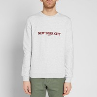 A.P.C. New York City Crew Sweat