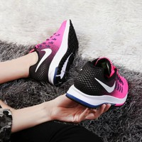 NIKE Trending Fashion Casual Sports Shoes Pink/Black One-nice™