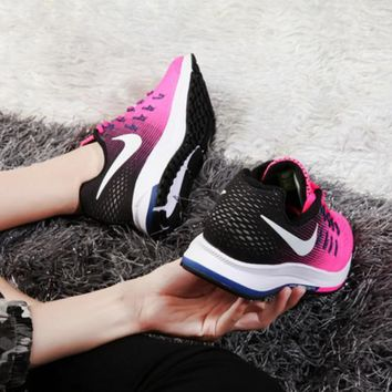 """NIKE"" Trending Fashion Casual Sports Shoes Pink/Black"