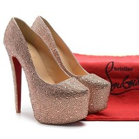 CL Christian Louboutin Fashion Heels Shoes-102