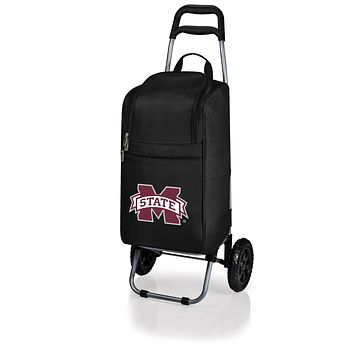 Mississippi State Bulldogs Cart Cooler with Trolley-Black Digital Print