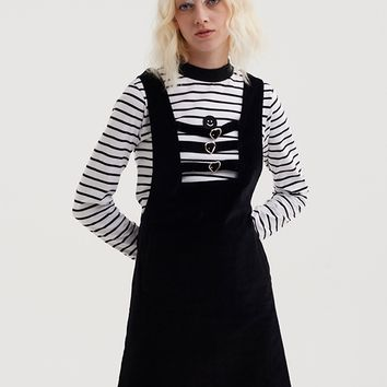 Lazy Oaf Heart Buckle Cord Dress