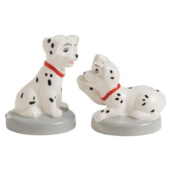 Disney by Vandor 101 Dalmatians Puppies Ceramic Salt & Pepper Set New With Box