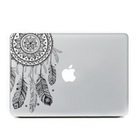 "Ac.y.c Decorative Removable Vinyl Decal Sticker Skin for Laptop HP Dell Samsung Laptop 13"" Inch Macbook Pro Air Retina Mac 13"" inch (Black Dreamcatcher)"