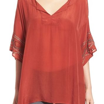 Plenty by Tracy Reese Embellished Tunic Tee | Nordstrom