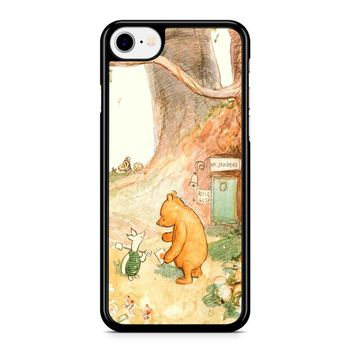 Winnie The Pooh Clasic Iphone 8 Case