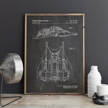 Snow Speeder Decor, Snowspeeder Print, Star Wars Poster,Star Wars Decor,Star Wars Nursery,Star Wars Wall Art,Starwars Decor,INSTANT DOWNLOAD