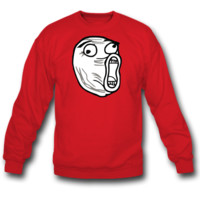 LOL face sweatshirt crewneck