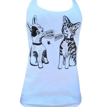 Bow Wow Meow Women Tank Top