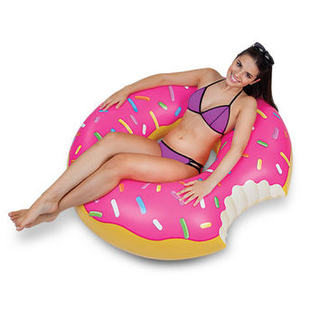 BIG MOUTH THE GIANT STRAWBERRY DONUT POOL FLOAT