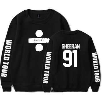 KPOP BTS Bangtan Boys Army  hot sall  ed sheeran Men/Women printing fashion pattern trend casual round neck long sleeve Sweatshirt xxs-4xl AT_89_10