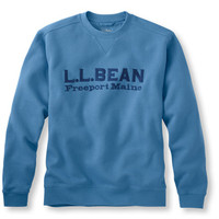 Athletic Sweat Logo Crewneck: Sweatshirts | Free Shipping at L.L.Bean