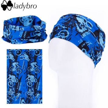 DCCKJG2 Ladybro 18 Color Amazing Seamless Scarf Fashion Turban Multifunctional Running Headband Sport Bandana Cycling Tubular Head Scarf