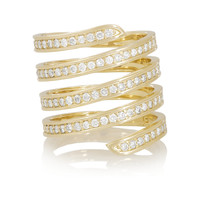 Lynn Ban - 14-karat gold diamond ring