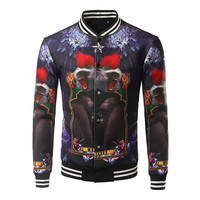 Monkey King Varsity Jacket
