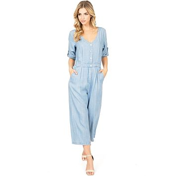 Dreamer Chambray Jumpsuit