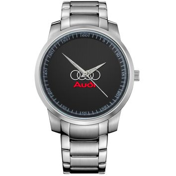 AUDI LOGO 1 Metal Watch