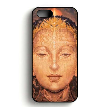 Art of Buddha Piece iPhone 5, iPhone 5s and iPhone 5S Gold case