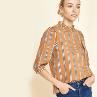 Cara Mock Neck Blouse