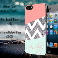 Monogram GM0038 Monogram Personalized Monogrammed Samsung Galaxy S3/ S4 case, iPhone 4/4S / 5/ 5s/ 5c case, iPod Touch 4 / 5 case