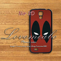 Marvel Deadpool,samsung galaxy S4 case,samsung Galaxy S3 samsung galaxy note 3,samsung galaxy S4 mini case,S3 mini,samsung galaxy s4 active